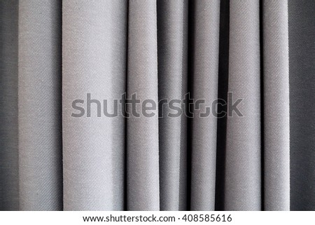 Curtains for background. Closeup curtains for background - stock photo