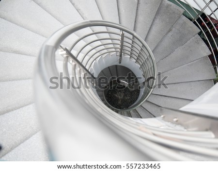 Curve Stair, Abstract