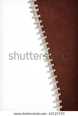 Curved Football Background