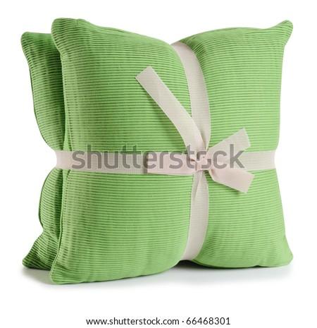 Cushion. - stock photo
