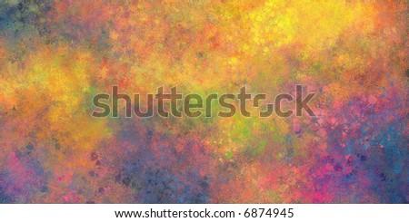 Custom Digital Texture rainbow - stock photo