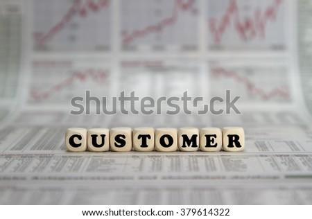 Customer - stock photo