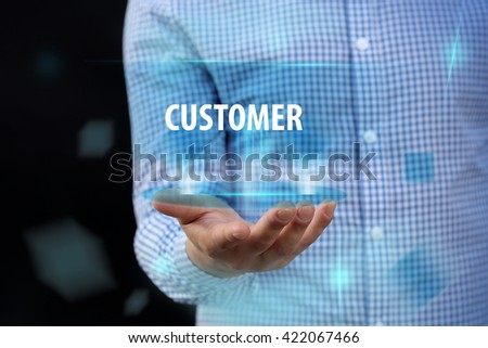 Customer - stock photo