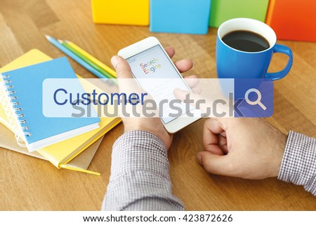 Customer Concept - stock photo