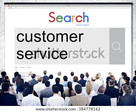 Customer Service Assistance Care Concept - stock photo