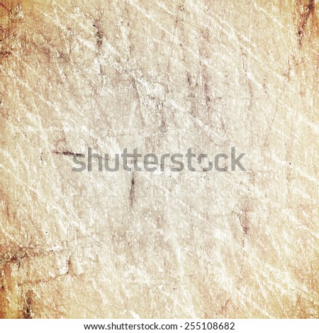 Cut lines on the wooden surface - stock photo