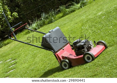 cut machine - stock photo