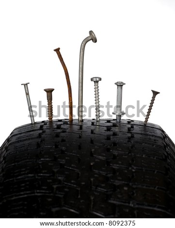 Cut wheel - stock photo
