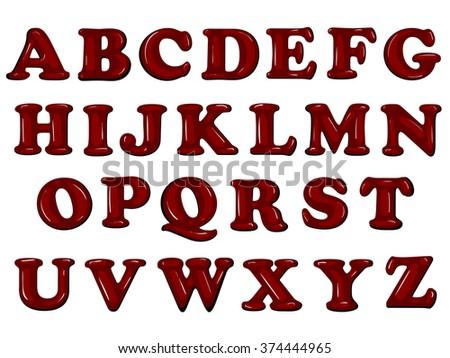 Cute Alphabet Letters A Z