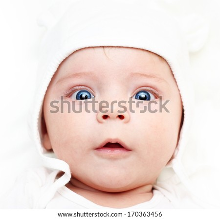 Cute baby boy. - stock photo