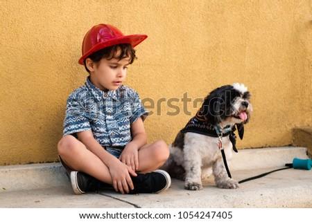 Cute Boys Enjoy Each Other