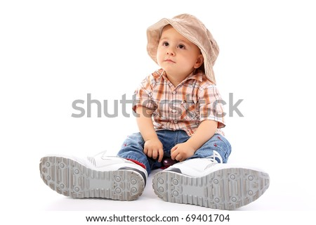 Cute child - stock photo