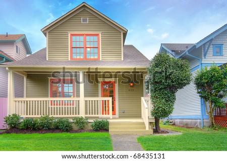 Pleasant Fotos Stock Cute House Fotografia Stock De Cute House Cute House Largest Home Design Picture Inspirations Pitcheantrous