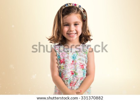 Cute girl - stock photo