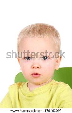 cute little baby  - stock photo
