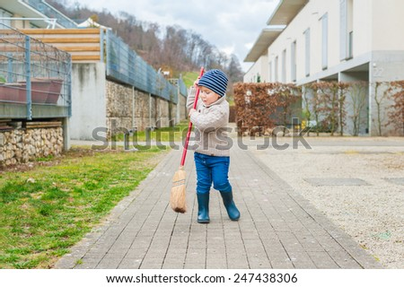 Kid Sweeping Stock Images Royalty Free Images Amp Vectors