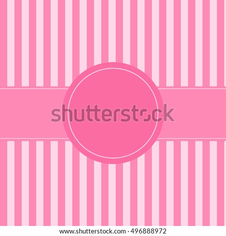 Cute pastel pink vintage background for celebrate card