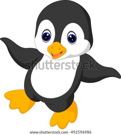 Penguin, Animal, Cute, Cartoon   Cute critters   Penguins ...