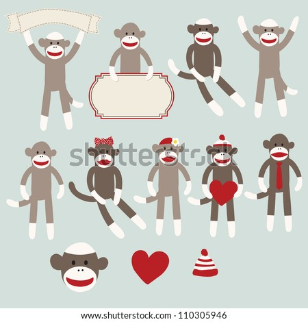 Sock Monkey Stock Images, Royalty-Free Images & Vectors | Shutterstock