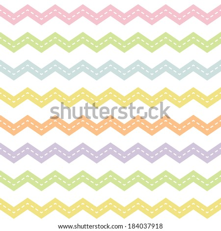 Cute seamless hipster background chevron pattern stock cute seamless hipster background with chevron pattern in spring colors for baby mothers day negle Image collections