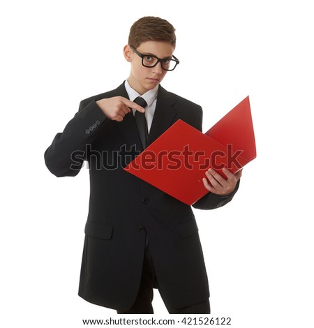 """""""clever Red Suit"""" Stock Photos, Royalty-Free Images ..."""