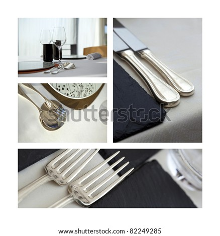 Cutlery and table set