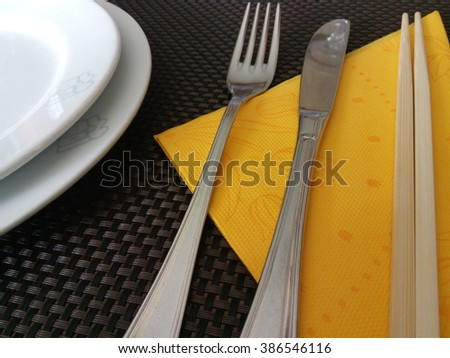 Cutlery details