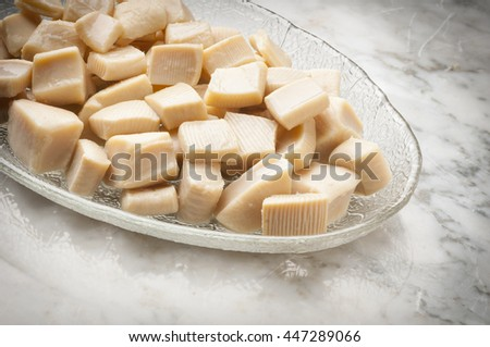 cuttlefish photo to apply to packaging design - stock photo