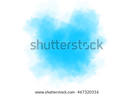 Cyan Colored Paint Background