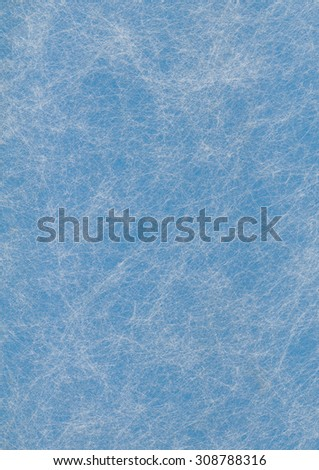 Cyan paper background wit white pattern - stock photo
