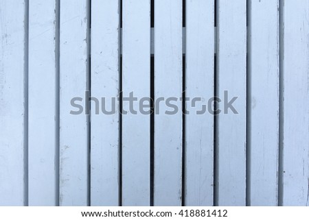 Cyan wood lath wall background