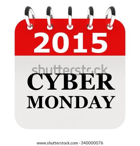 Cyber Monday 2015 - stock photo
