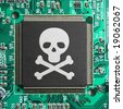 Cyber Piracy - stock photo