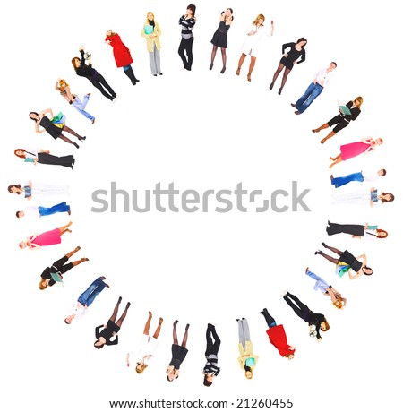 cycle of our life - stock photo