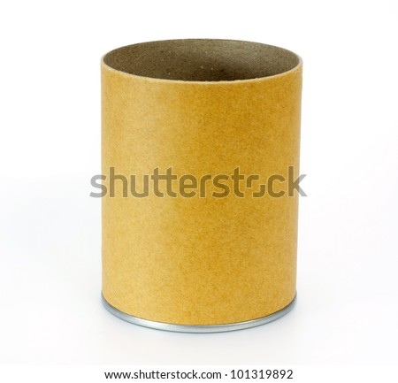 Cylinder Container - stock photo