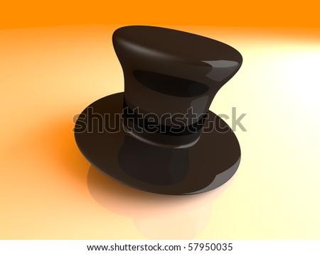 Cylinder Hat - stock photo