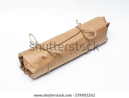 cylinder packing in kraft paper