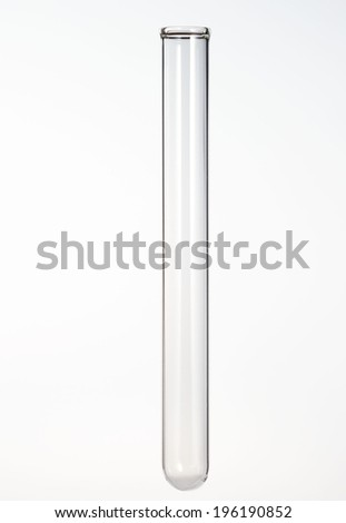 cylindrical phial - stock photo