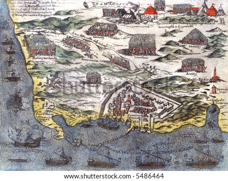Cyprus ancient map famagusta city war stock illustration 5486464 cyprus ancient map of famagusta city war gumiabroncs Choice Image