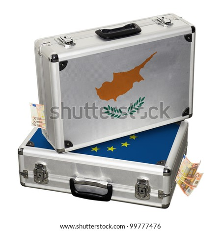 Cyprus financial crisis. Financial assistance. - stock photo