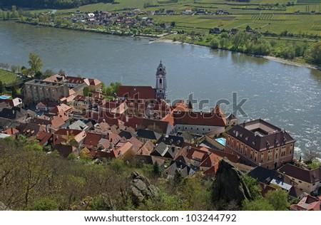 D�¼rnstein / Wachau - Austria - stock photo