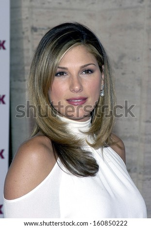 Daisy Fuentes attends REDBOOK'S ANNUAL MOTHERS & SHAKERS AWARDS at Avery Fisher Hall in Lincoln Center, NY, September 20, 2004