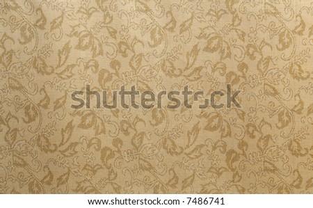 Damask wallpaper texture - stock photo