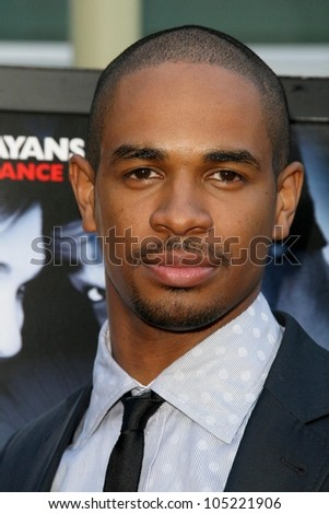 Damon Wayans Jr   at the Los Angeles Premiere of 'Dance Flick'. Arclight Hollywood, Hollywood, CA. 05-20-09 - stock photo