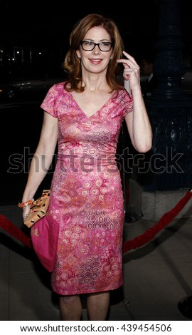 "Dana Delany at the Los Angeles Premiere of ""Changeling"" held at the Academy of Motion Picture Arts and Sciences in Beverly Hills, USA on October 23, 2008. - stock photo"