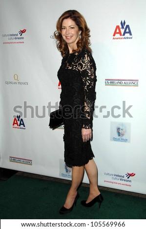 Dana Delany at the US-Ireland Alliance Pre Academy Awards Gala. Ebell Club, Los Angeles, CA. 02-19-09 - stock photo