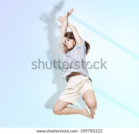 Dance. - stock photo