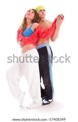 Dancers - stock photo