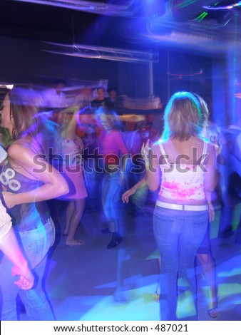Dancing time - stock photo
