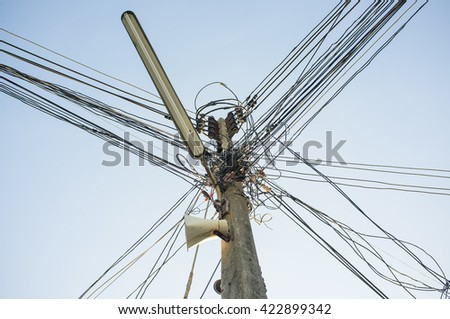 Danger from electrical wirin or Power line dangers